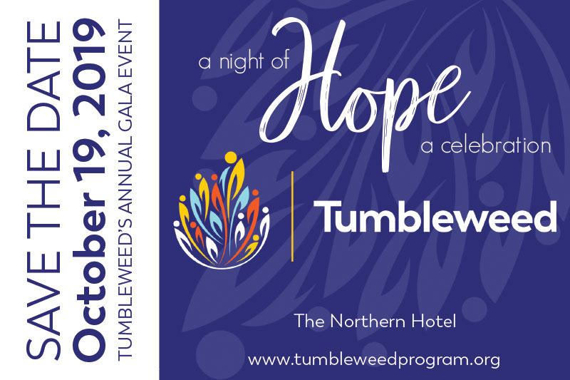A Night of Hope - A Celebration - 2019 - Tumbleweed